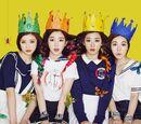 Red Velvet In-Game Backgrounds