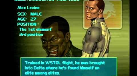 Air Force Delta Strike Character Profile-Alex Levine