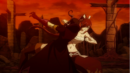 Minerva takes a surprise attack from Erza.png