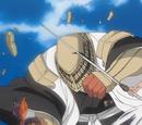 Kenpachi Zaraki vs. Kaname Tōsen & Sajin Komamura