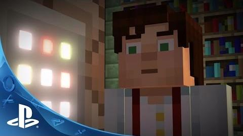 Minecraft- Story Mode Teaser Trailer - PS4, PS3