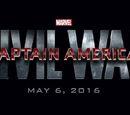 Armas de Capitão América: Guerra Civil