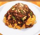 Spaghetti Napolitan Japonés