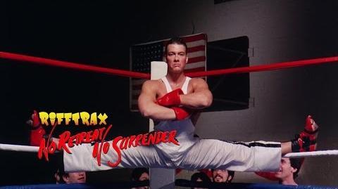 RiffTrax No Retreat, No Surrender (Preview Clip)