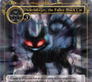 Schrödinger, the Fallen Black Cat