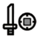 Sword and Shield Icon White.png