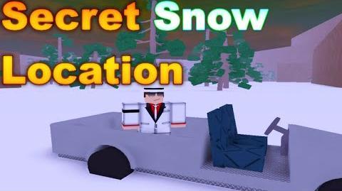 ROBLOX Lumber Tycoon 2 - Secret Snow Location