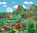 The Simpsons Locations