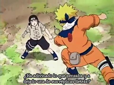 Naruto Uzumaki vs Neji Hyūga