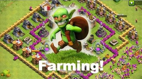 Clash of clans- Farma górą! 1
