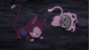 Frosch and Lector hit by Kyôka's Curse.png