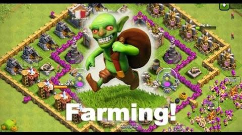 Clash of clans- Farma 450k Gold! 3