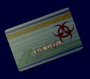 Biohazard Card