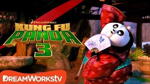 Mei Mei's Ribbon Dance - Kung Fu Panda 3 (2016)