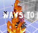 30 Ways to Die in Minecraft