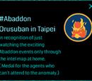 Mission:Abaddon Orusuban in Taipei
