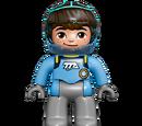 Figurines Miles dans l'espace