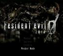 Wesker Mode (Resident Evil Zero HD Remaster)