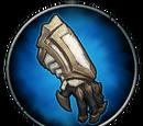 Todesengel-Handschuhe