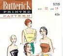 Butterick 5715 B