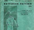 Butterick 4898 C