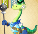 Naughty Apatosaurus