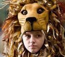 Chapeau lion de Luna Lovegood