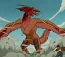 Bird-like Kaiju