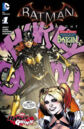 Batman Arkham Knight Batgirl Harley Quinn Vol 1 1.jpg