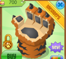 Tiger Paw Chair