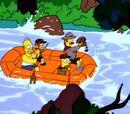 Auf Wildwasserfahrt