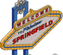 Welcome to Springfield Sign