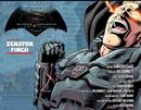 Batman v Superman Dawn of Justice – Senator Finch title page.png