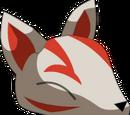 Masque de kitsune