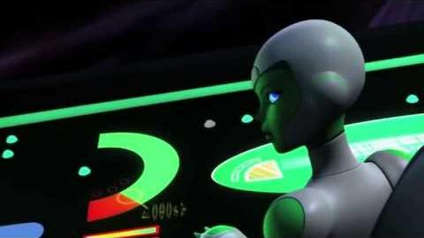 "Green Lantern Animated Series ""Lost Planet"" (Clip 1)"