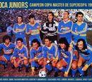 Campeón de la Copa Master de Supercopa 1992