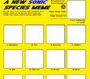 BLANK MEME: A New Sonic Species Meme