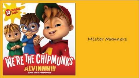 Mister Manners (Album) - The Chipettes