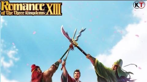 Romance of the Three Kingdoms XIII Promotional Trailer