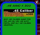 .45 Ammo x 300
