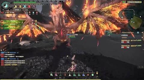Monster Hunter Online - New Monster Merphistophelin Doomsday Catastrophe Gameplay