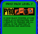 Pryo Pack Level 1