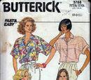 Butterick 3768 A