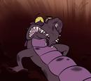 Nienazwany potwór krokodyl