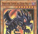 Dragón Toon de Ojos Rojos