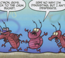 Comic strips in SpongeBob Comics No. 10