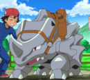 XY007: Giving Chase at the Rhyhorn Race!