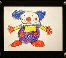 Daisy's clown