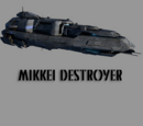 Mikkei Combine Destroyer