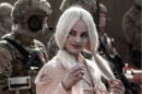 Harley Quinn with military men.png